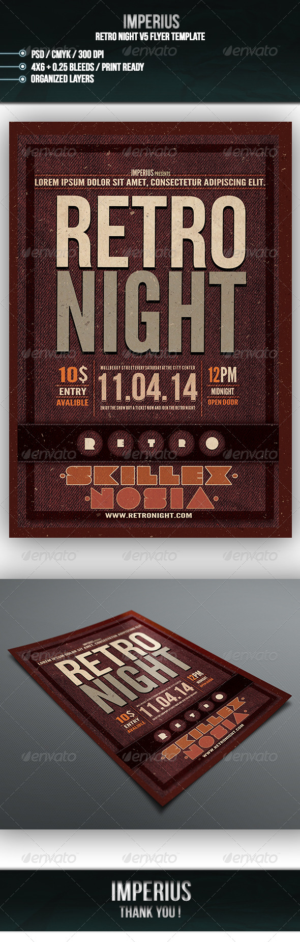 GraphicRiver Retro Night V5 7203215