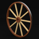 Cart Wheel - 3DOcean Item for Sale