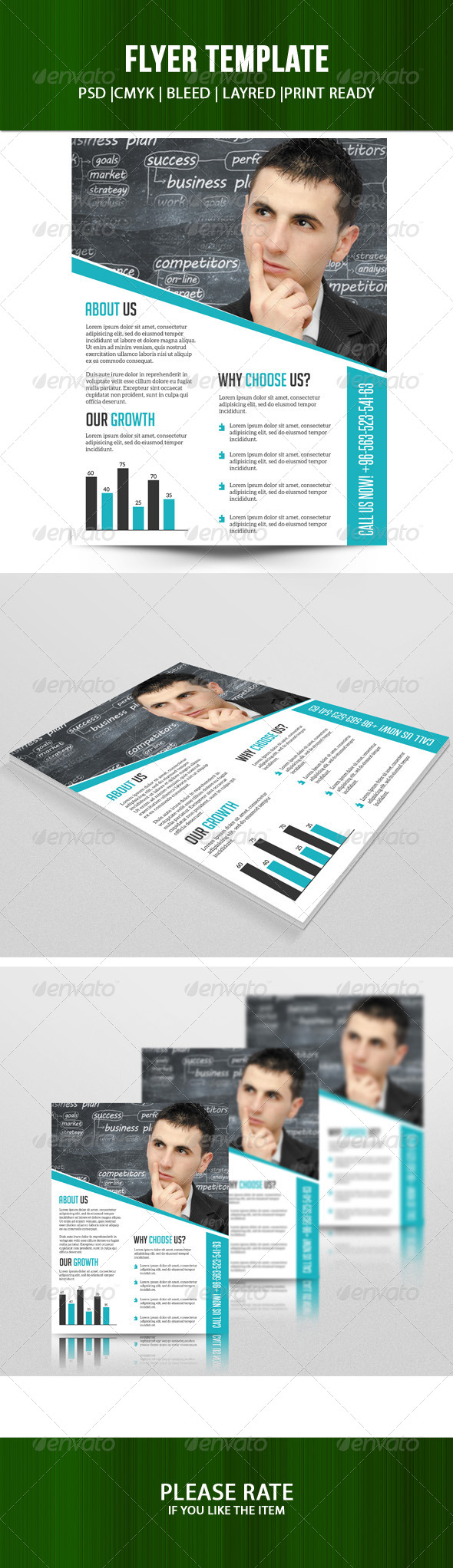GraphicRiver Business Flyer Template 7203426