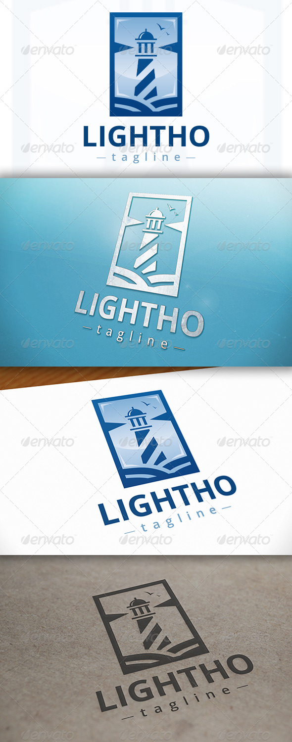 GraphicRiver Lighthouse Logo Design 7203452