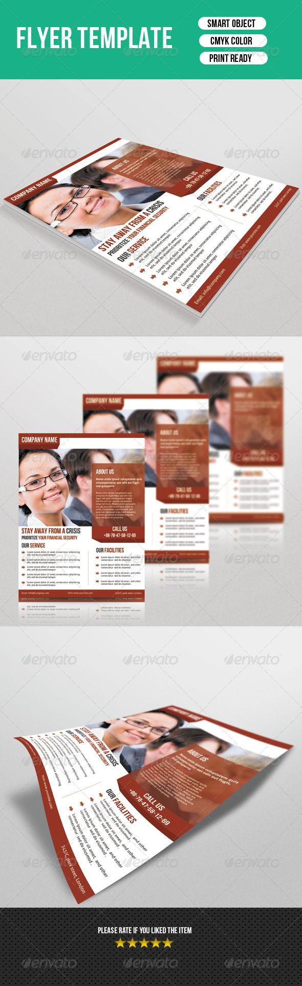 GraphicRiver Corporate Flyer 7203523