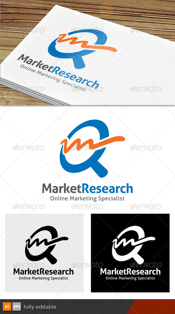 GraphicRiver Market Research Logo 7203855