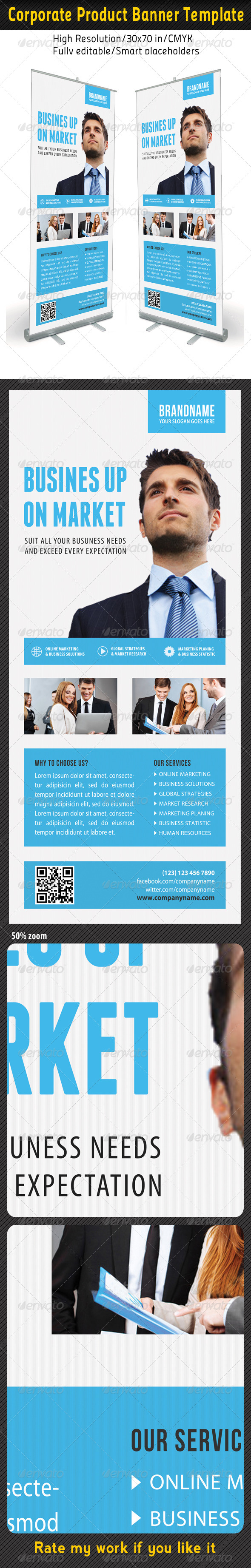 GraphicRiver Corporate Multipurpose Banner Template 56 7203933