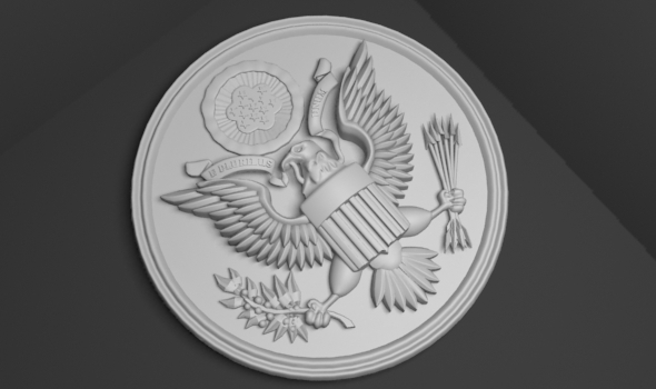 3DOcean United States national emblem 7204163