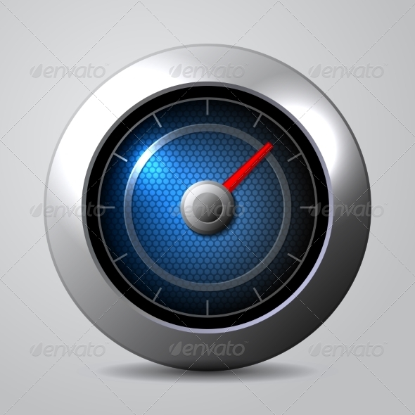 GraphicRiver Speedometer in the Car 7204203