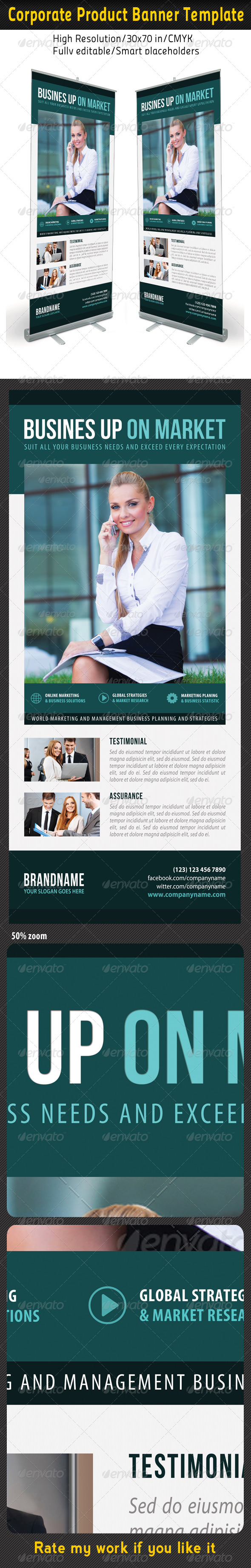 GraphicRiver Corporate Multipurpose Banner Template 57 7204243