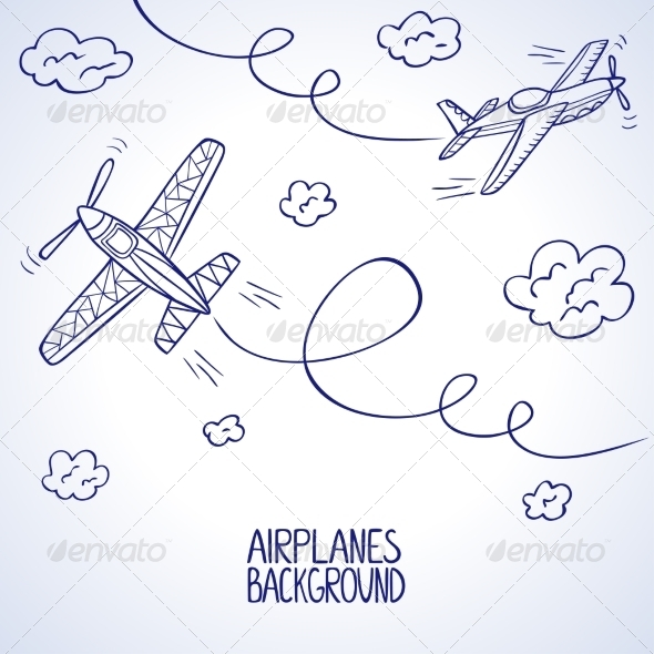 GraphicRiver Airplanes 7204533