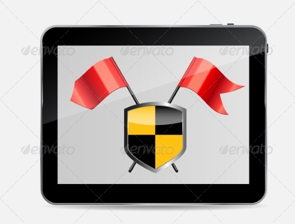 GraphicRiver Internet Security Icon Vector Illustration 7204784