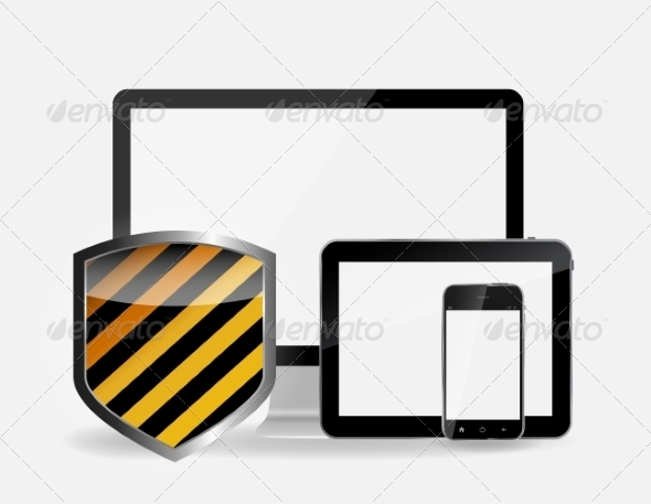GraphicRiver Internet Security Icon Vector Illustration 7204787