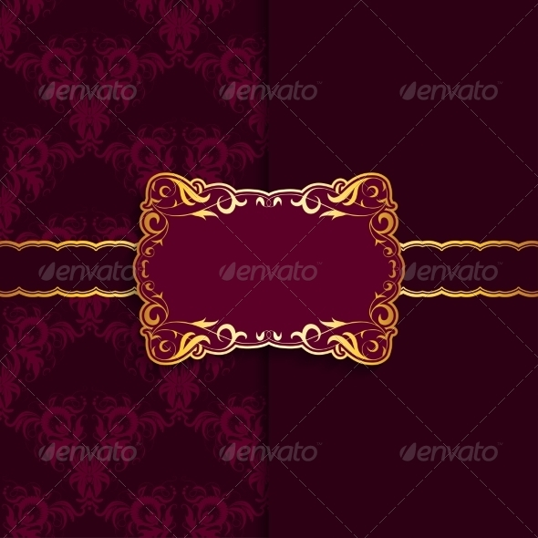 GraphicRiver Template Frame Design for Greeting Card 7206501