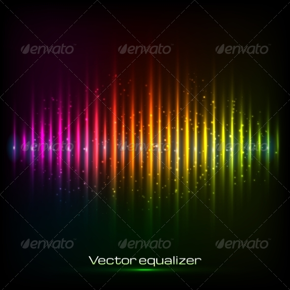 GraphicRiver Rainbow Equalizer 7208391