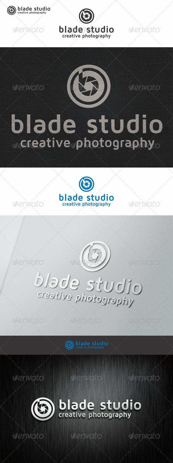 GraphicRiver Blade Photo Studio Logo B 7208421