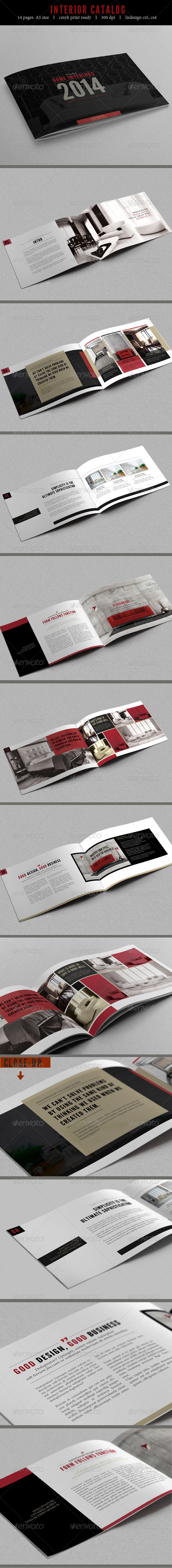 GraphicRiver Professional Brochure Catalog 7186513