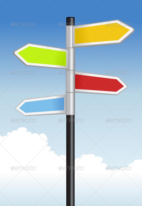GraphicRiver Signpost 7209065
