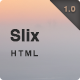 Slix - Responsive Multipurpose HTML5 Template - ThemeForest Item for Sale