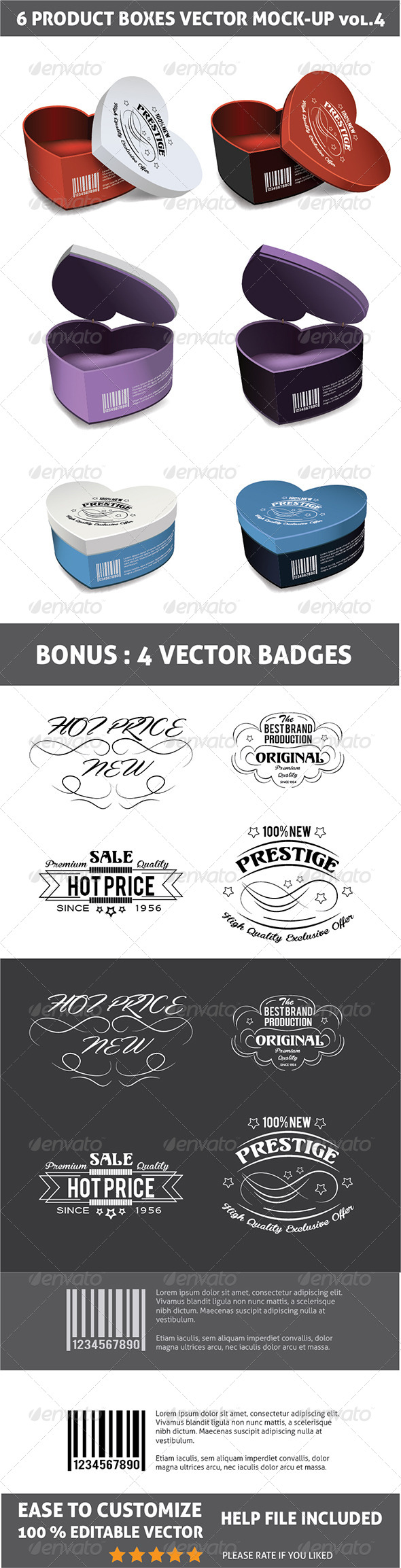 GraphicRiver Packages Mockup 7209336