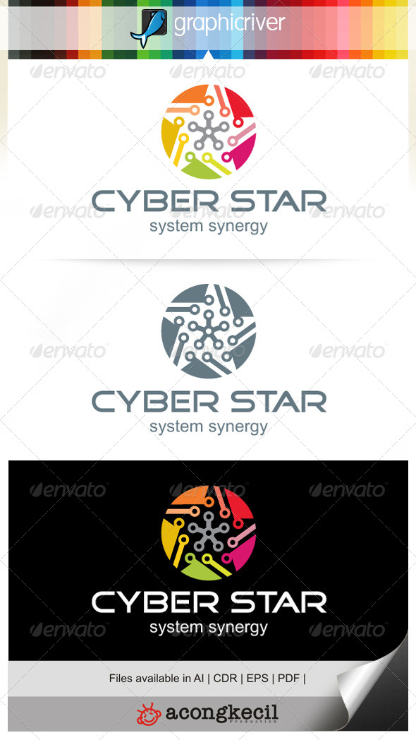 GraphicRiver Cyber Star V.3 7209618