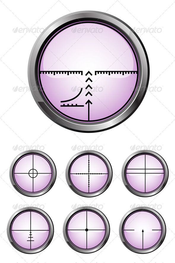 GraphicRiver Rifle Scope Sight 7210584