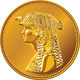 Vector Egyptian money, gold coin with Cleopatra - GraphicRiver Item for Sale