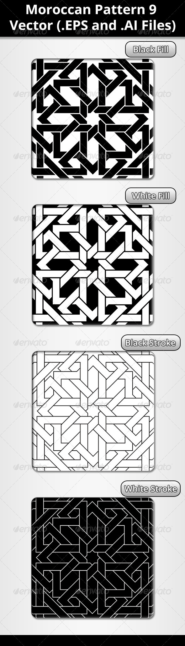 GraphicRiver Moroccan Pattern 7210724
