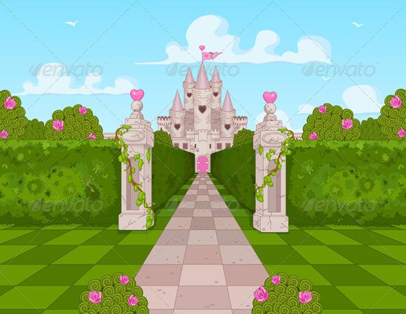 GraphicRiver Romantic Castle 7211696