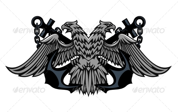 GraphicRiver Imperial Eagle on Anchors 7212253
