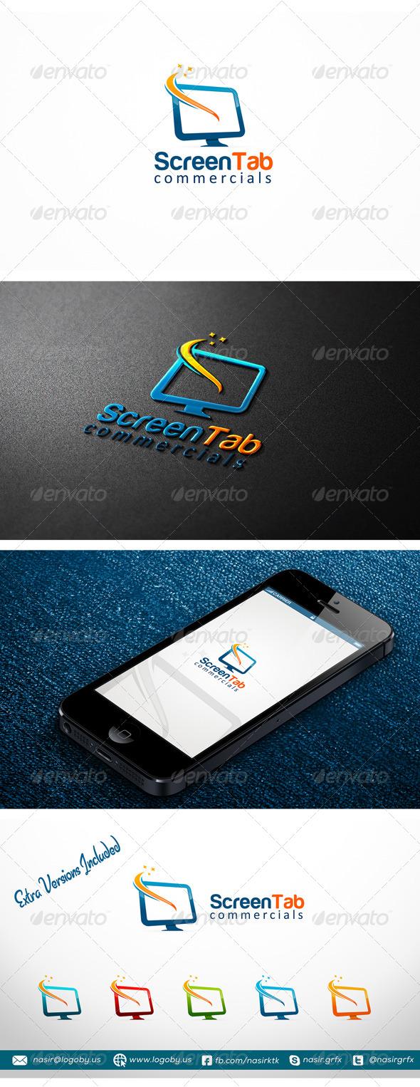 GraphicRiver LCD Screen Logo 7212371