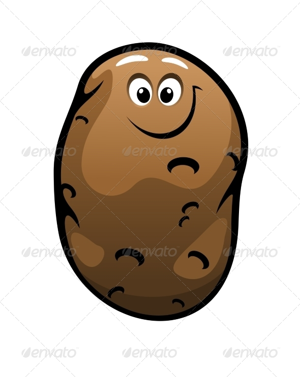 GraphicRiver Potato Cartoon 7212408