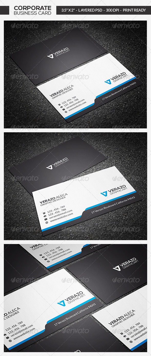 GraphicRiver Minimal Business Card 10 7213052