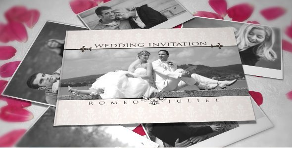 After Effects Project - VideoHive Wedding Invitation 755943