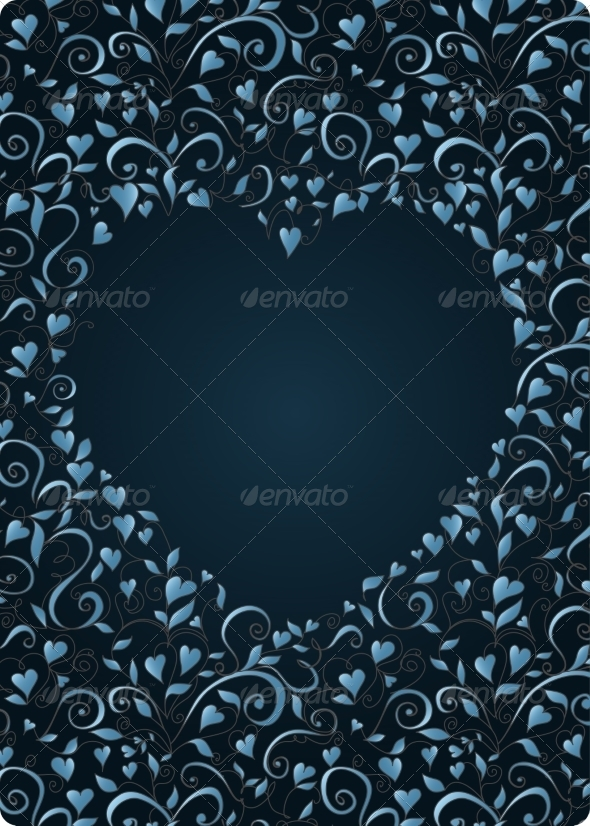 GraphicRiver Heart-Shaped Frame 7213246