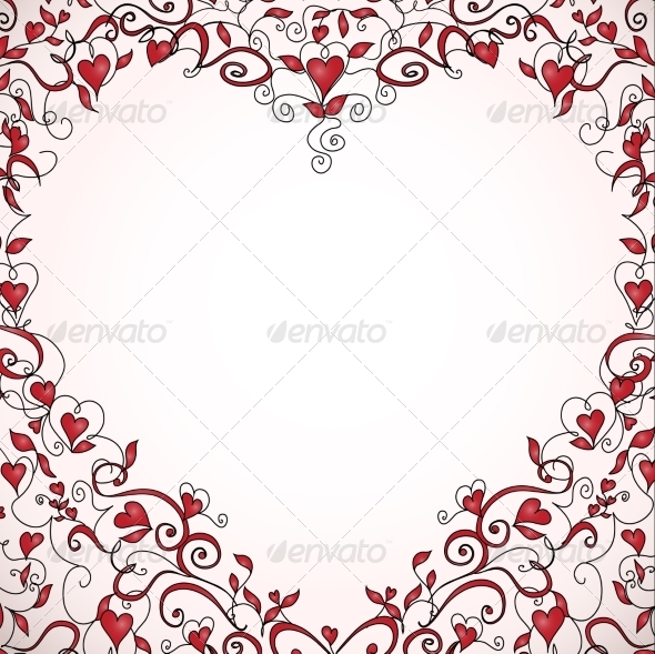 GraphicRiver Heart-Shaped Frame 7213276
