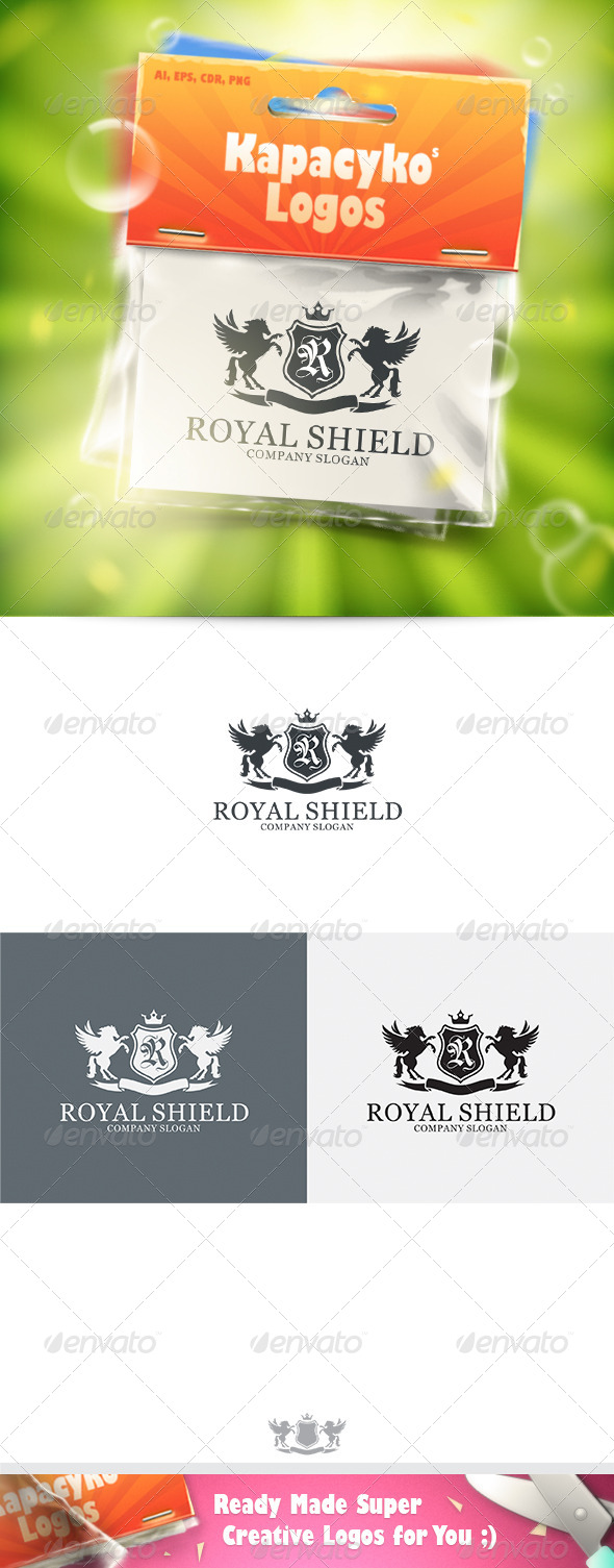 GraphicRiver Royal Shield v.8 Logo 7213279