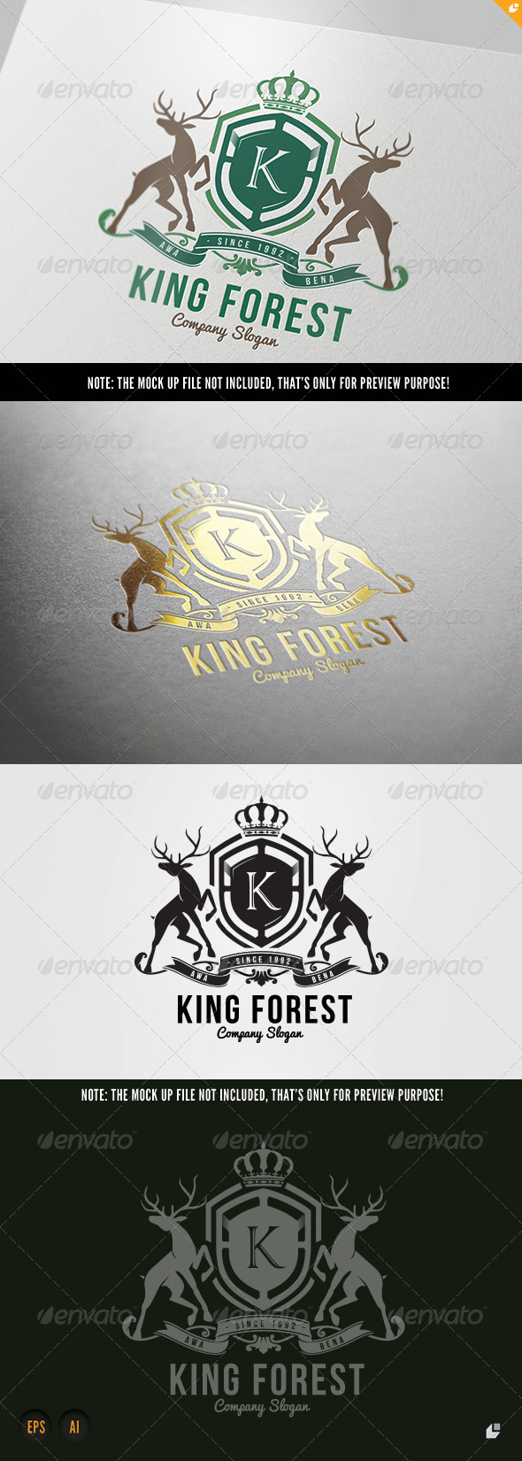 GraphicRiver King Forest 7215134