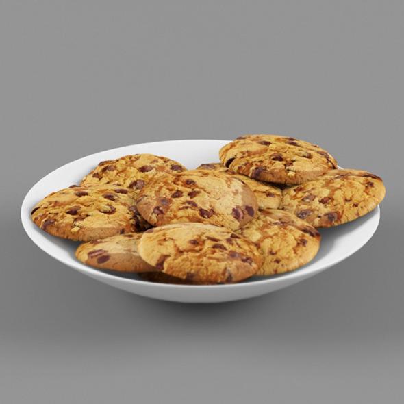 3DOcean Cookies 7215619
