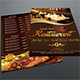 Cafe & Restaurant Menu Flyer - GraphicRiver Item for Sale