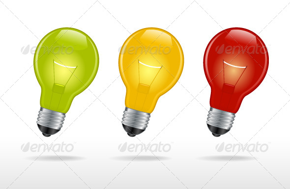 GraphicRiver Light Bulbs 7216157