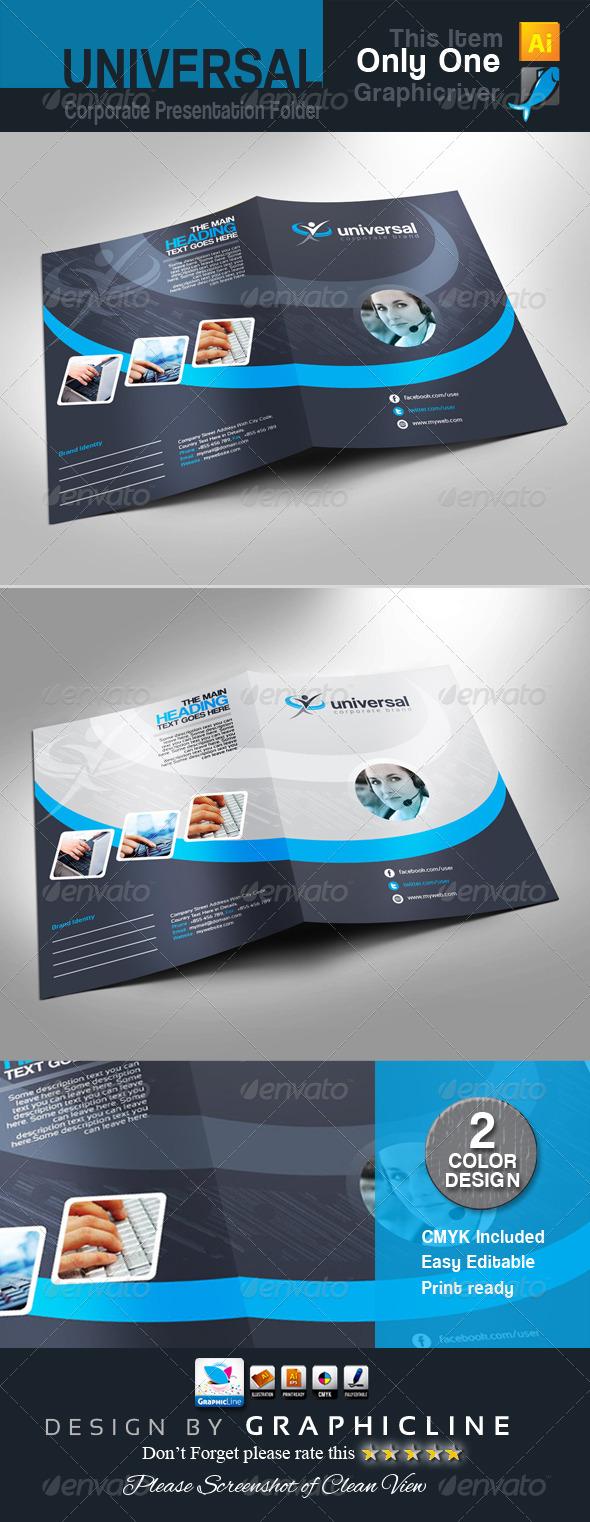 GraphicRiver Universal Corporate Presentation Folder 7216448