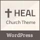 Free Download  Heal Church Responsive WordPress Theme