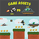 Game Assets - Panda Versus Alien - GraphicRiver Item for Sale