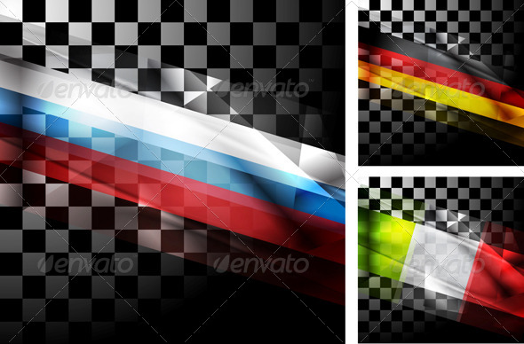 GraphicRiver Concept Design of Flags 7216927