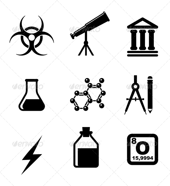 GraphicRiver Science Symbols 7216990