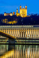 Saone river at Lyon by night - PhotoDune Item for Sale