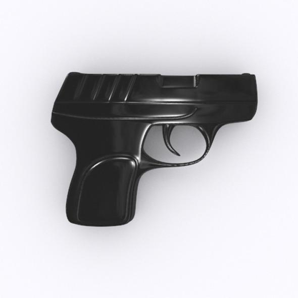 3DOcean Pistol 3D model 7217367
