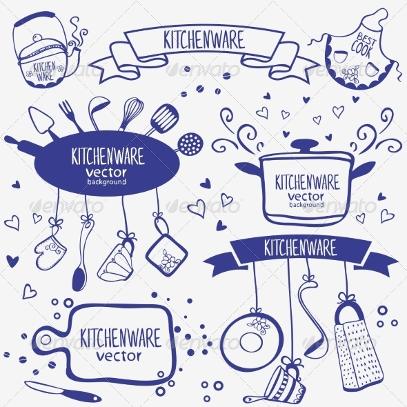 GraphicRiver Kitchenware Set 7217415