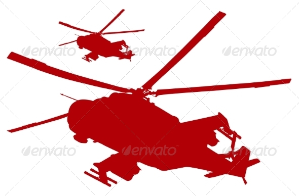 GraphicRiver Helicopters 7217508