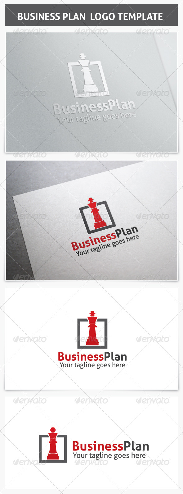 GraphicRiver Business Plan Logo 7218109