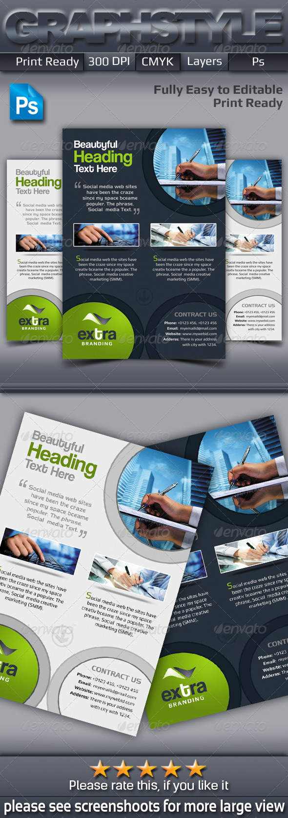 GraphicRiver Extra Corporate Business Flyer 7218134