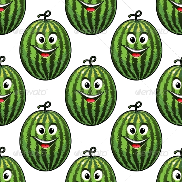 GraphicRiver Watermelon Pattern 7218156