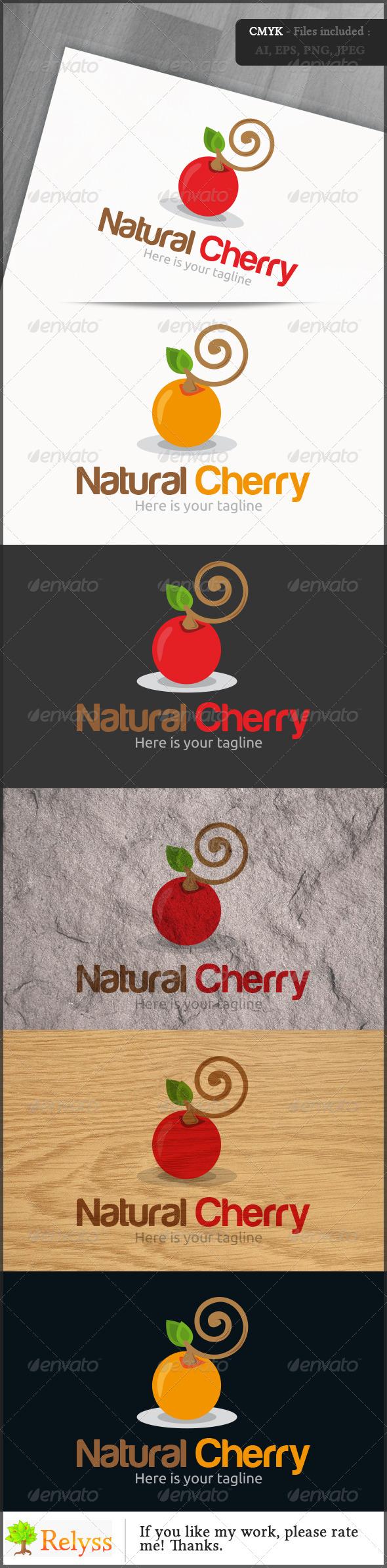 GraphicRiver Natural Cherry Logo 7218423